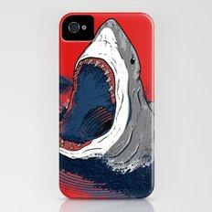 Greedy Shark Slim Case iPhone (4, 4s)