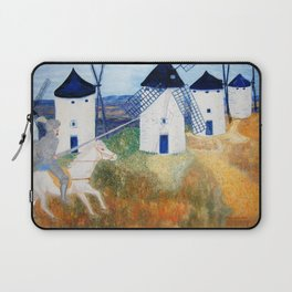 Sound of windmills going aroand Laptop Sleeve