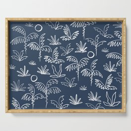Oasis (navy) Serving Tray
