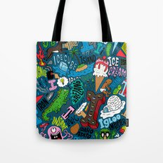 I Pattern Tote Bag