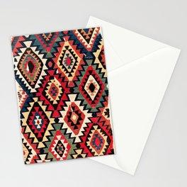 Kurdish  Antique Turkish Kilim Fragment Print Stationery Cards
