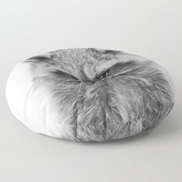 Raccoon Floor Pillow