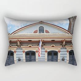 New Orleans American Creole Cottage Rectangular Pillow