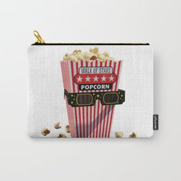 Buttered Popcorn and 3D Movie glasses Carry-All Pouch
