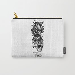 Skull Head Pineapple Carry-All Pouch