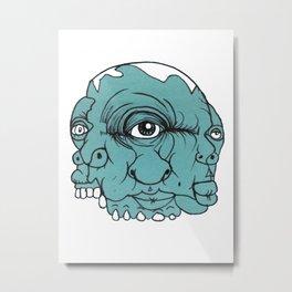 Number #19 Metal Print