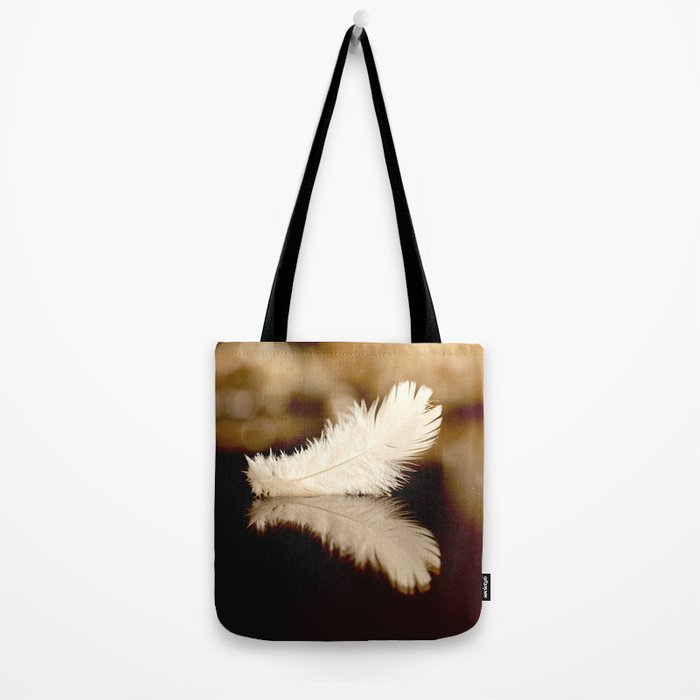 Feather Reflection Tote Bag