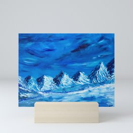 Mountain Glacier Mini Art Print