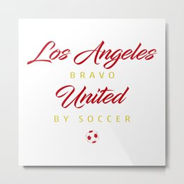 Los Angeles Bravo Metal Print
