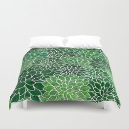 Floral Abstract 23 Duvet Cover