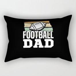 Football Dad Rectangular Pillow