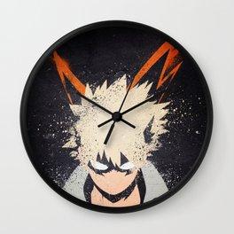 Katsuki Boku No Hero Academia Wall Clock
