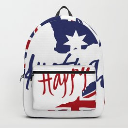 Happy Australia Day 2018 Backpack