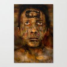 Kopfgefangenheit  Canvas Print