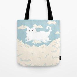Cat Cloud Tote Bag