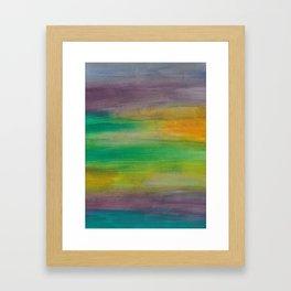 Ocean Sunset Series 1 Framed Art Print