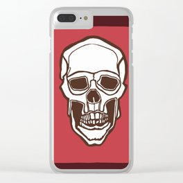 Mannequin of Death (red palette) Clear iPhone Case
