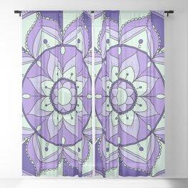 Mandala Maze Sheer Curtain
