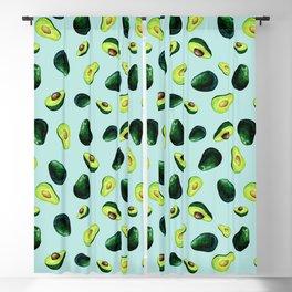 Avocado Pattern Blackout Curtain