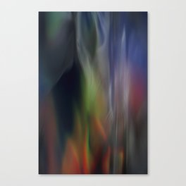 Heavenly lights in water of Life-5 Canvas Print