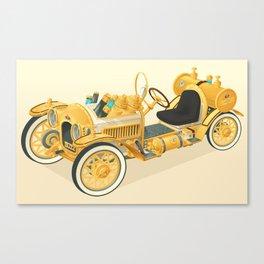 Blitz Car Canvas Print