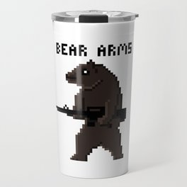Bear Arms Travel Mug