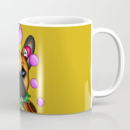 Drunk Dog (yellow) Coffee Mug
