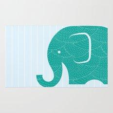 Fun at the Zoo: Elephant Rug