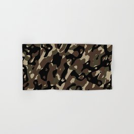 Camouflage Abstract Hand & Bath Towel