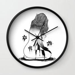 Deep beauty. Wall Clock
