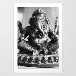 Buddhismus Art Print