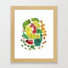 SUMMERTIME SAMBA Framed Art Print