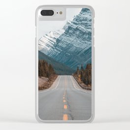 Road to the Mountain Clear iPhone Case