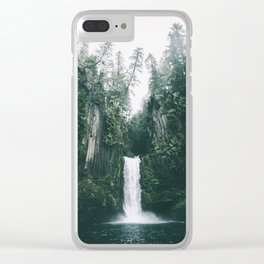 Toketee Falls Clear iPhone Case