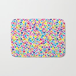 Little Hearts Bath Mat