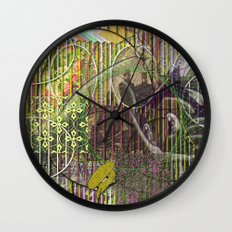 A Strict Code for Mourning Flowers (1) Wall Clock