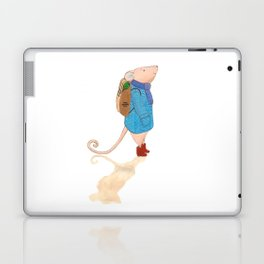 The travelling mouse Laptop & iPad Skin