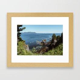Alaska Cliff Framed Art Print