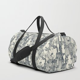 just cattle indigo pearl Duffle Bag