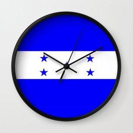 honduras country flag Wall Clock