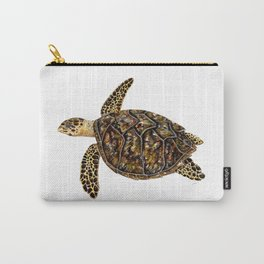 Hawksbill sea turtle (Eretmochelys imbricata) Carry-All Pouch
