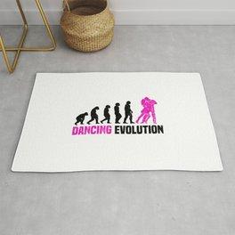 Dancing Evolution T Shirt Dancer Girl TShirt Step Dance Shirt Evolution-Look Gift Idea Rug