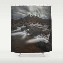 The Hills Of Cuillin Shower Curtain