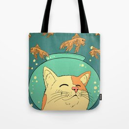 Cat's Dream Tote Bag