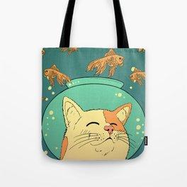 Cat's Dream Tote Bag