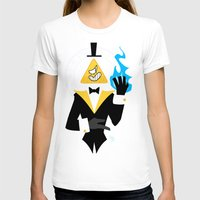 bill cipher T-shirts featuring Cipher by Palolabg