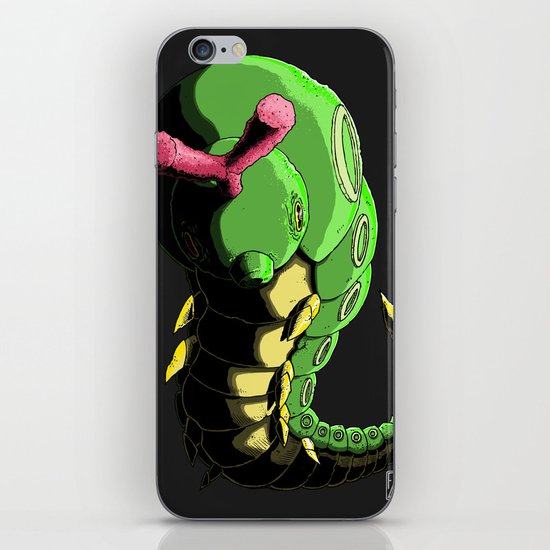 Caterpie iPhone & iPod Skin