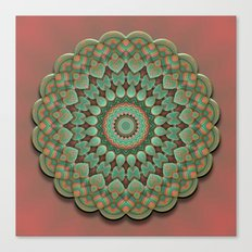 Simple Mandala Canvas Print