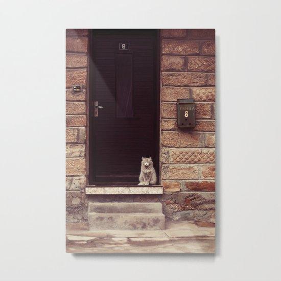 Welcome Home  Metal Print