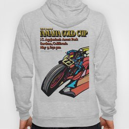 Vintage 70s Californian Race poster Hoody